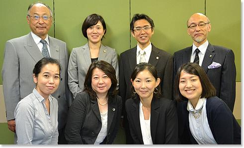 東京・京橋法律事務 スタッフ
